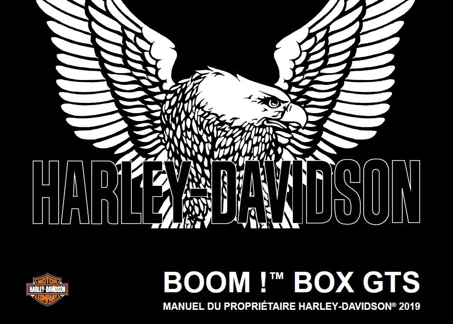 Manuel en français des Boom Box 6.5 GTS